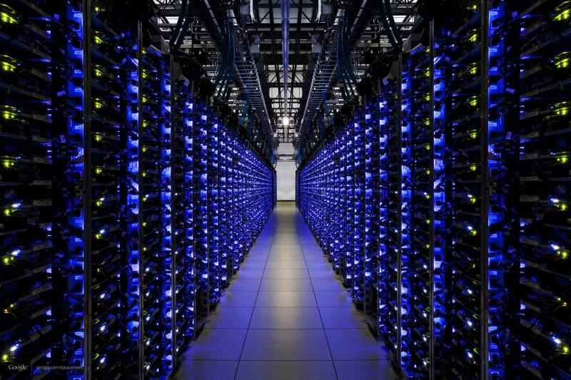 Google Datacenter Images